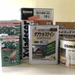 木材保護塗料(浸透型)
